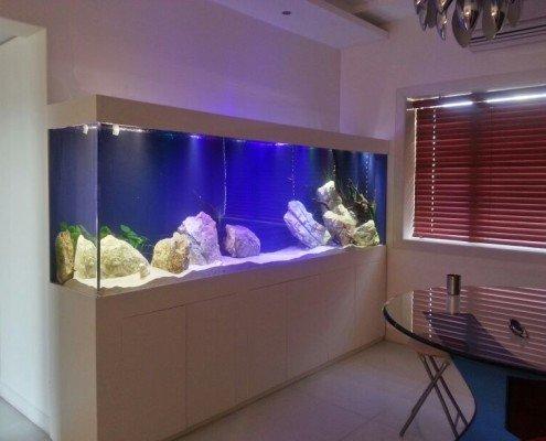 custom residential acrylic aquarium